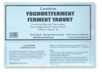Yoghurt Culture (LACTOFERM) for 1 Litre